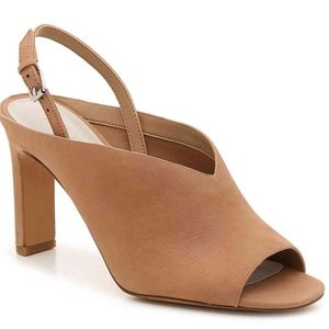 1.STATE Pettle Heeled Sandal Soft Leather